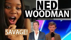 Ned Meme - britian s got talent 2017 ned woodman audition reaction