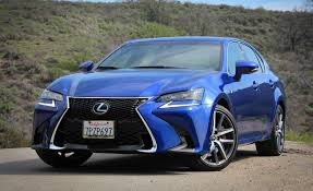 sporty lexus blue 2016 lexus gs350 f sport test u2013 review u2013 car and driver