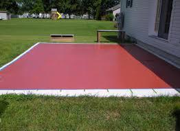patio u0026 pergola amazing paint cement patio excellent home design
