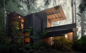 long branch tree lighting cabin at longbranch olson kundig
