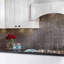 kitchen backsplash tin stunning kitchen backsplash pressed tin panels roll faux pic of for