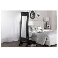 Free Standing Full Length Mirror Jewelry Armoire Bimini Wood Crown Molding Top Free Standing Full Length Cheval