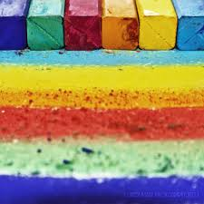chalk rainbow by saphophotographics on deviantart
