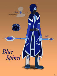 blue opal gemsona blue spinel gemsona by silverwingink on deviantart