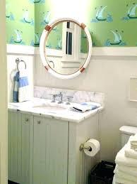 nautical bathroom mirrors nod to nautical bathroom beach themed bathroom mirrors wyskytech com