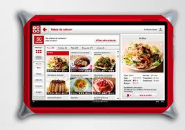 tablette pour cuisine qooq une tablette tactile pour faire la cuisine journal du