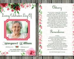 memorial program templates white funeral program template photoshop psd instant
