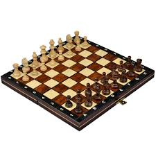 interesting chess sets amazon com travel magnetic chess set w wooden 10 4