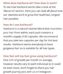 does hairburst work musely
