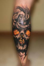 46 best amazing skull and flowers tattoo images on pinterest