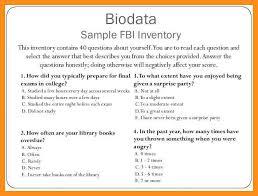 13 who to write biodata agenda example