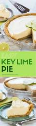easy key lime pie garnish with lemon