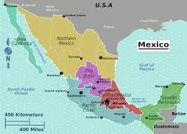 map of mexico yucatan region filemexico regions map png amazing of mexico yucatan region new