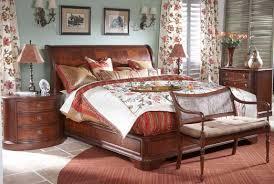 Mahogany Sleigh Bed Mahogany And More Bedroom Sets Heritage Mahogany Four Piece