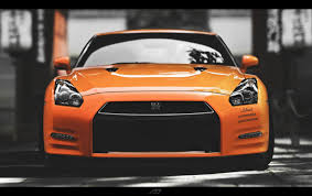 nissan skyline 2005 orange nissan skyline gtr front wallpapers orange nissan skyline