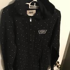 best excellent condition vans zip up hoodie size s for sale in