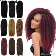 marley hair extensions 2018 hot 18 100g afro kinky curly twist hair crochet braids