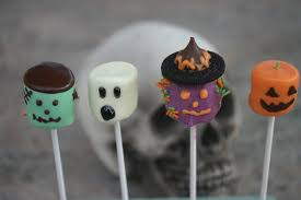 halloween ghost pumpkin halloween treats chocolate marshmallow frankenstein witch