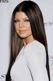 highlighting fine hair straight dark brown hair with highlights brown hairs