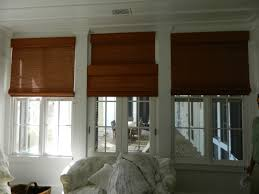 woven wood blinds installed by laurel home furnishings available