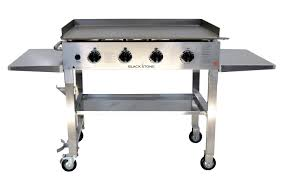 blackstone 36 u0027 u0027 stainless steel outdoor griddle stainless steel