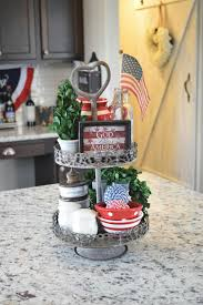independence day mantel for the home pinterest
