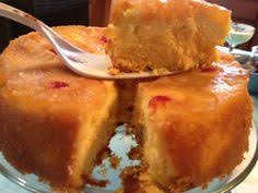 vintage home dole pineapple and cream cheese upside down cake