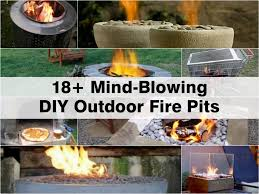Patio Fire Pit Propane 18 Mind Blowing Diy Outdoor Fire Pits