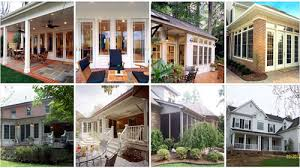 Screened In Patios Screened In Porch Vs Sun Rooms Case Charlotte