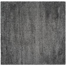 Squares Area Rug Safavieh California Shag Gray 4 Ft X 4 Ft Square Area Rug