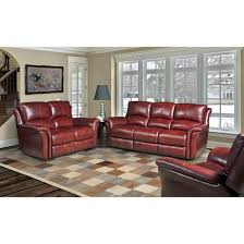 Recliner Living Room Set Living Lewis Leather Power Reclining Living Room Set In