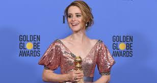 claire foy takes home best actress in tv drama at golden globes