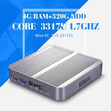 pc bureau wifi mini ordinateur i5 3317u 4 g ram 320 g hdd wifi hdmi