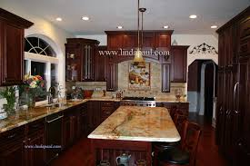 kitchen with tile backsplash tuscan backsplash tile murals tuscany design kitchen tiles