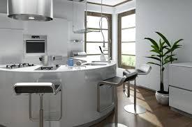 ilot cuisine rond la cuisine arrondie dans 41 photos pleines d idées