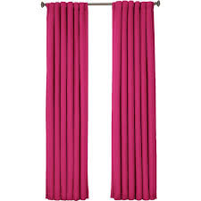 eclipse kids twill blackout window curtain panel raspberry
