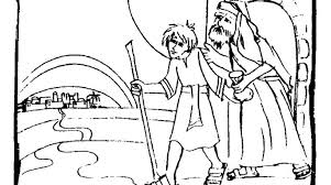 preschool coloring pages woman at the well prodigal son coloring page for preschoolers as well as prodigal son
