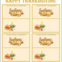turkey place cards