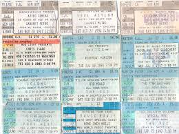 ticket stub album daleagogo ticket stub nostalgia my in concerts