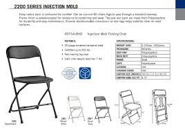 Samsonite Folding Chairs For Sale Samsonite 2200 Series Injection Mold Chair L Affordable Folding