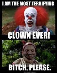 Evil Clown Memes - americasn horror story freak show clown meme twisty scary clown jpg