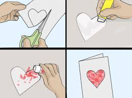 heart shaped writing paper how to make cards for valentine s day with sample cards