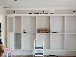 Ikea White Bookcases by Avery Street Design Blog Diy Summer Ikea Hack Built In