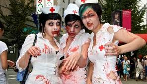 Bloody Nurse Halloween Costume Zombie Nurse Costumes Costume Fail