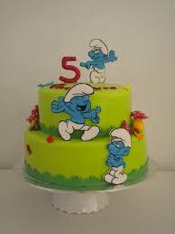 smurfs cake smurfs cakes birthday party boys