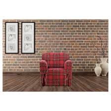 highland plaid chair slipcover sure fit target