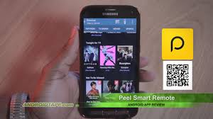 samsung remote app android peel smart remote android app review