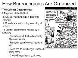 Define Cabinet Departments Bureaucracy Ppt Download