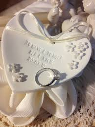 classic dish ring holder images Petite fleur personalized wedding ring bearer bowl clay jpg