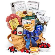 breakfast baskets s day gift basket breakfast in bed by gourmetgiftbaskets